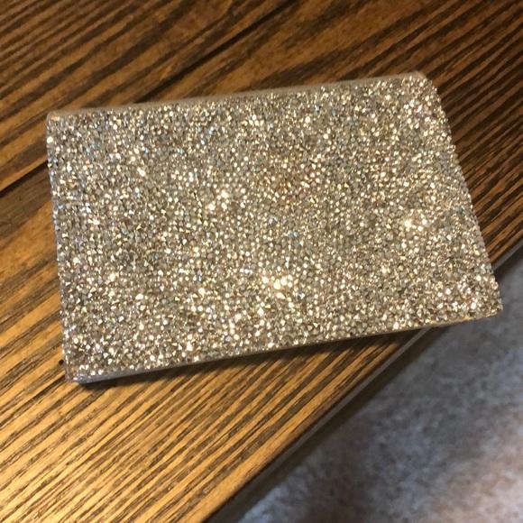 Swarovski accessories swarovksi silver business card holder poshmark swarovksi silver business card holder colourmoves